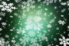 Christmas abstract  background with snowflakes. Abstract snowflake Christmas winter background with copy space Stock Photos