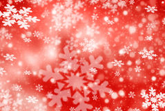 Christmas abstract  background with snowflakes Stock Images