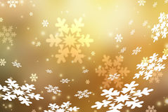 Christmas abstract  background with snowflakes. Abstract snowflake Christmas winter background with copy space Royalty Free Stock Photo