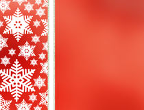 Christmas abstract  background with snowflakes. Abstract snowflake Christmas winter background with copy space Royalty Free Stock Image