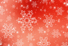Christmas abstract  background with snowflakes Stock Photography