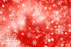 Christmas abstract  background with snowflakes. Abstract snowflake Christmas winter background with copy space Royalty Free Stock Photography