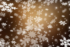 Christmas abstract  background with snowflakes Royalty Free Stock Photography