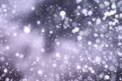 Christmas abstract  background with snowflakes Stock Photo