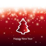 Christmas abstract  banner Stock Photo