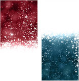 Christmas abstract banners. Stock Photo