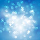 Christmas abstract blue background vector illustration