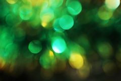 Christmas abstract blur background, light bokeh. Colored Royalty Free Stock Photo