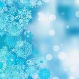 Christmas abstract bokeh Stock Image