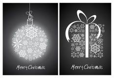 Christmas abstract card Stock Photo