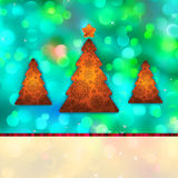 Christmas abstract card with copyspace. EPS 8 Stock Photos