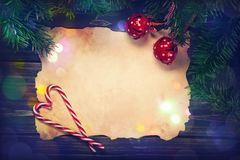 Christmas abstract decorations royalty free stock photo