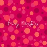 Christmas Abstract Design Greeting Card royalty free illustration
