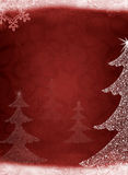 Christmas abstract fur-tree Stock Images