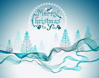Christmas abstract greeting background Stock Photography