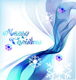 Christmas abstract greeting background, VECTOR Royalty Free Stock Photography