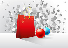 Christmas abstract Stock Images