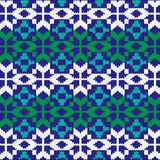Christmas abstract knit nordic pattern Stock Photography