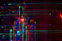 Christmas abstract light patterns Royalty Free Stock Photos
