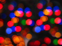 Christmas abstract lights Royalty Free Stock Image