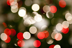 Christmas abstract lights Royalty Free Stock Photography
