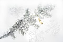 Christmas abstract photo. Some holiday decorations Royalty Free Stock Photos