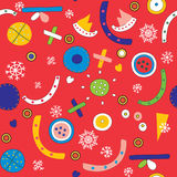 Christmas abstract seamless pattern Royalty Free Stock Photos
