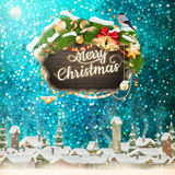 Christmas abstract template. EPS 10 Stock Photography