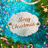 Christmas abstract template. EPS 10 Royalty Free Stock Photo