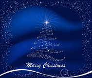 Christmas abstract vector background Royalty Free Stock Image