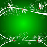 Christmas abstract vector illustration Royalty Free Stock Images