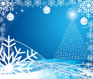 Christmas abstract vector illustration Royalty Free Stock Photos