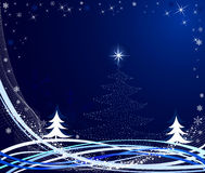 Christmas abstract vector illustration Royalty Free Stock Image