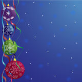 Christmas abstraction Royalty Free Stock Images