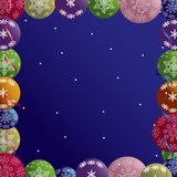 Christmas abstraction Royalty Free Stock Photo