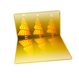 Christmas. Abstraction to be used for web page Royalty Free Stock Photography