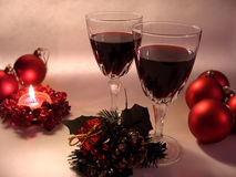 Christmas Accessories royalty free stock photo