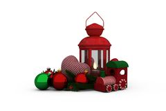 Christmas accessories Stock Photography
