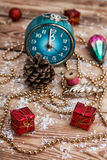 Christmas accessories Royalty Free Stock Images