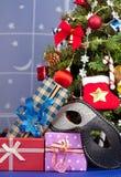 Christmas accessories Stock Photos