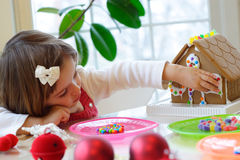 Christmas activities Stock Photography