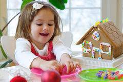 Christmas activities Stock Image