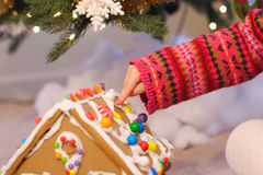 Christmas activities Royalty Free Stock Photography