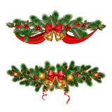 Christmas adornments royalty free stock photo