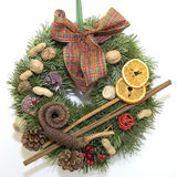 Christmas advent wreath Royalty Free Stock Photography