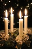 Christmas advent wreath Royalty Free Stock Photos