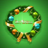Christmas Advent Wreath Royalty Free Stock Photo