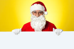 This christmas advertise your business here Royalty Free Stock Photos