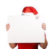 Christmas advertisement Royalty Free Stock Photos