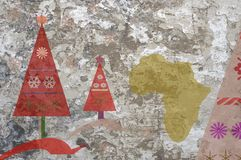 Christmas in Africa Royalty Free Stock Photo